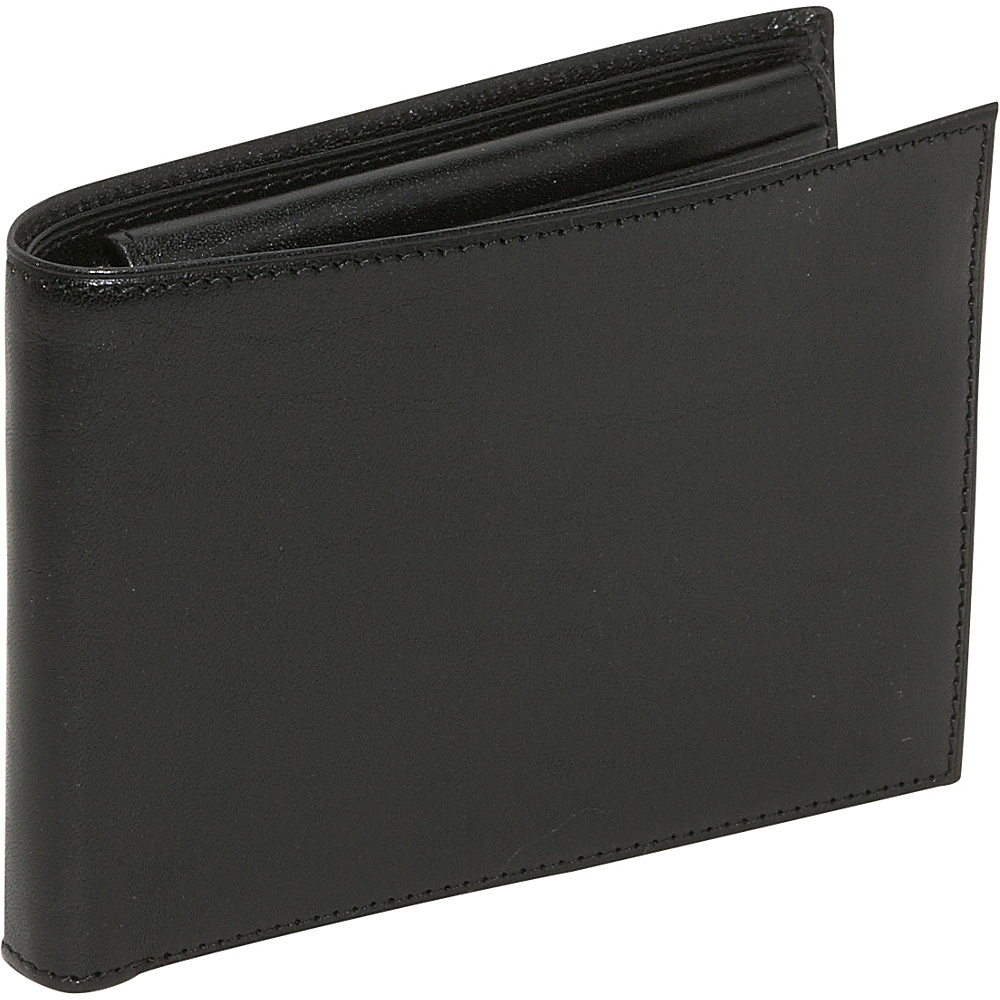 Bosca Old Leather Credit Wallet w/ID Passcase - Black - Work Bags & Briefcases, Men's Wallets