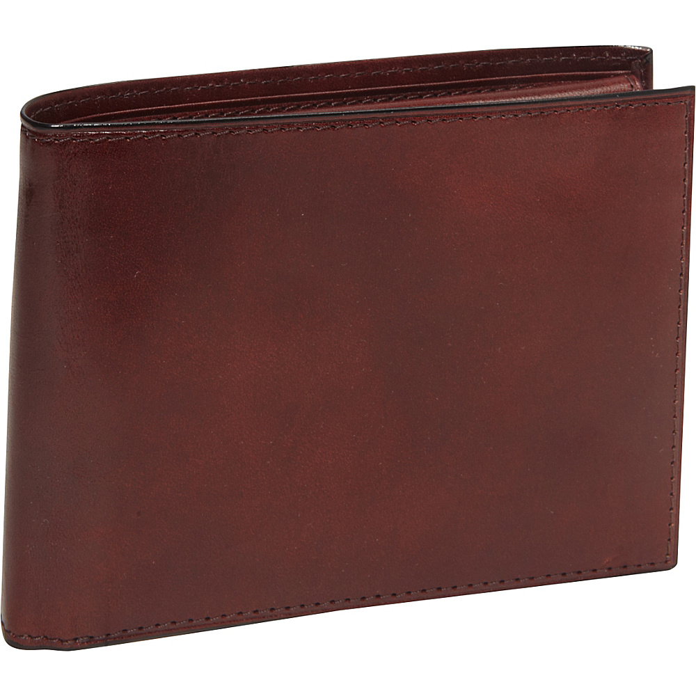 Bosca Old Leather Credit Wallet w/ID Passcase Dark Brown - Bosca Mens Wallets - Work Bags & Briefcases, Men's Wallets