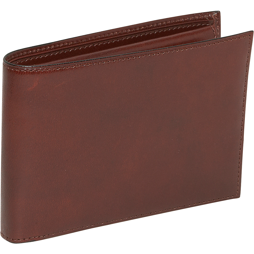 Bosca Old Leather Credit Wallet w ID Passcase Cognac