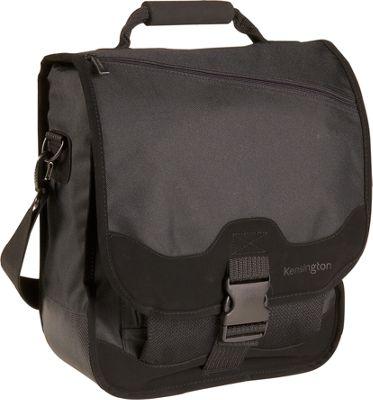 kensington saddlebag notebook carrying black