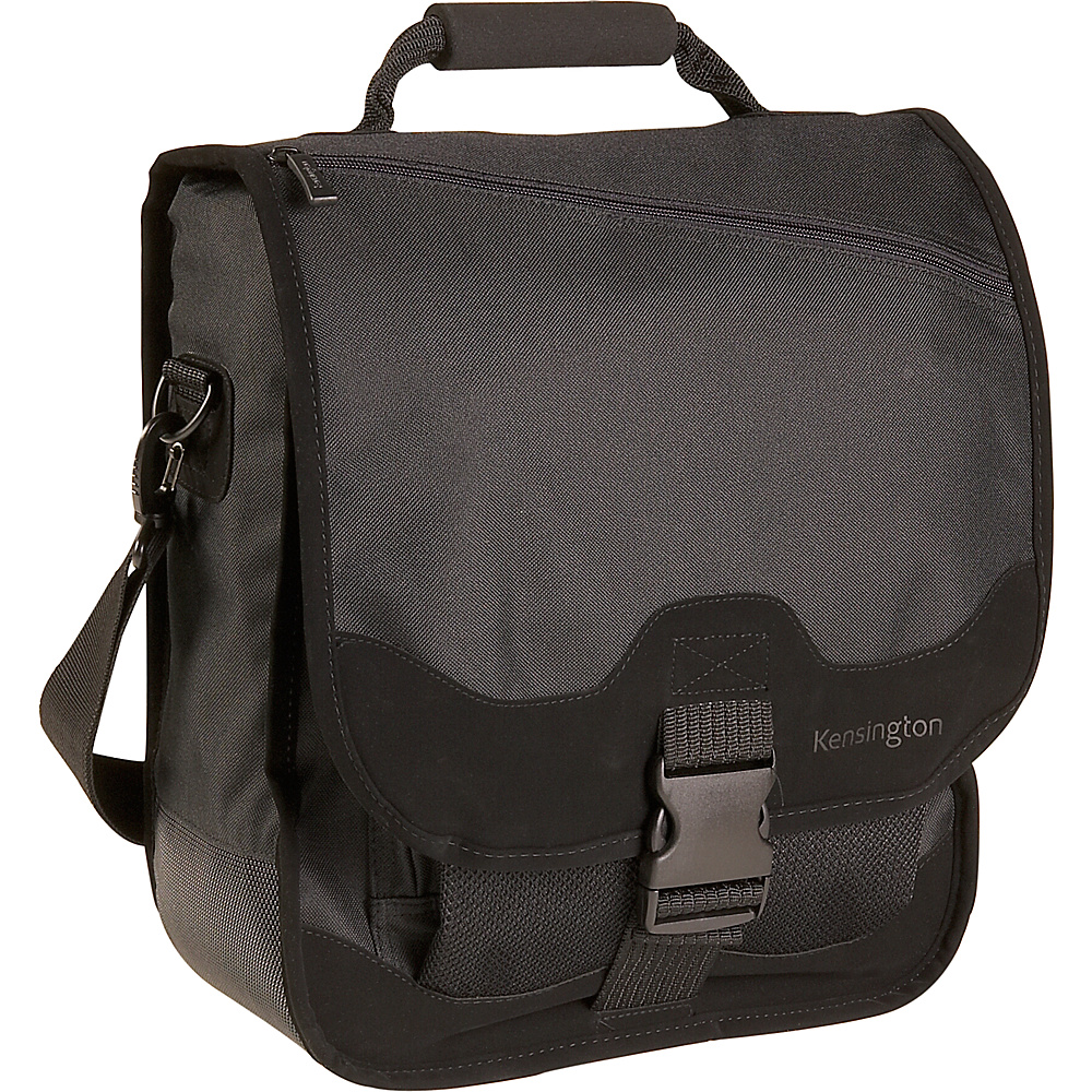 Kensington Saddlebag Notebook Carrying Case - Black - Work Bags & Briefcases, Non-Wheeled Business Cases