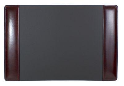 Bosca Old Leather Home Desk Pad - Dark Brown