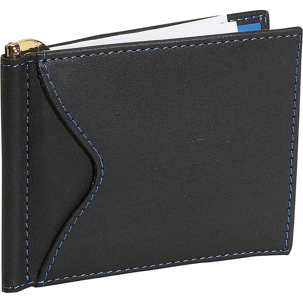 Royce Leather Men's Cash Clip Wallet With Outside