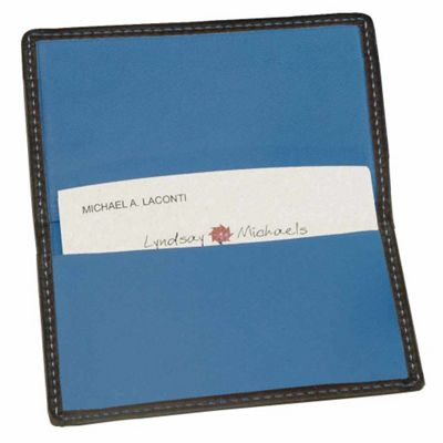 Royce Leather Business Card Case-Metro Collection