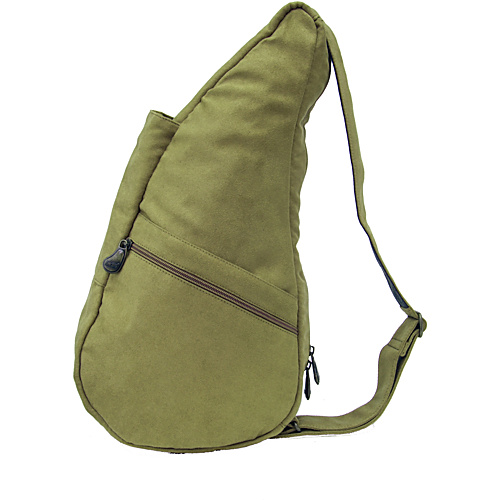 AmeriBag Healthy Back Bag Tote Polysuede Extra - Backpack Handbags