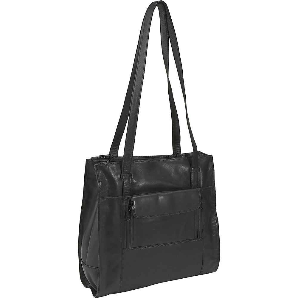 Derek Alexander Triple Compartment North South Shopper - Handbags, Leather Handbags