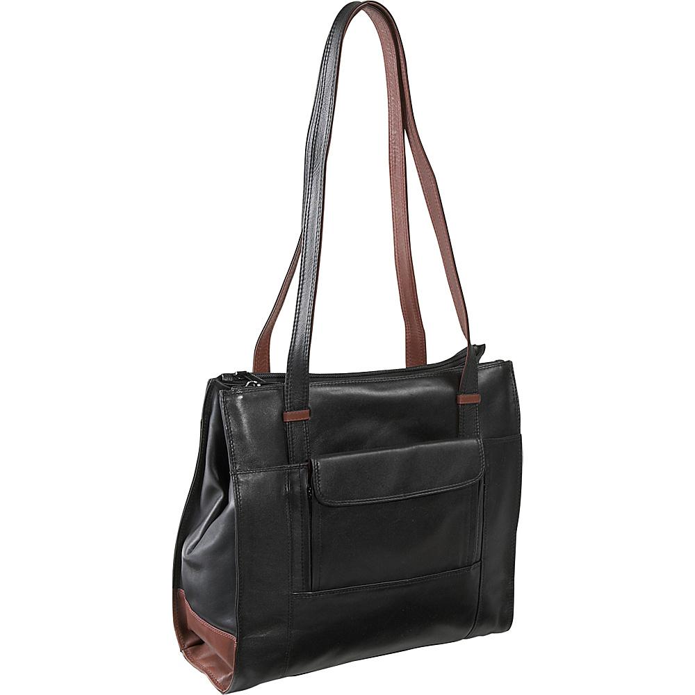 Derek Alexander Triple Compartment North South Shopper - Handbags, Leather Handbags