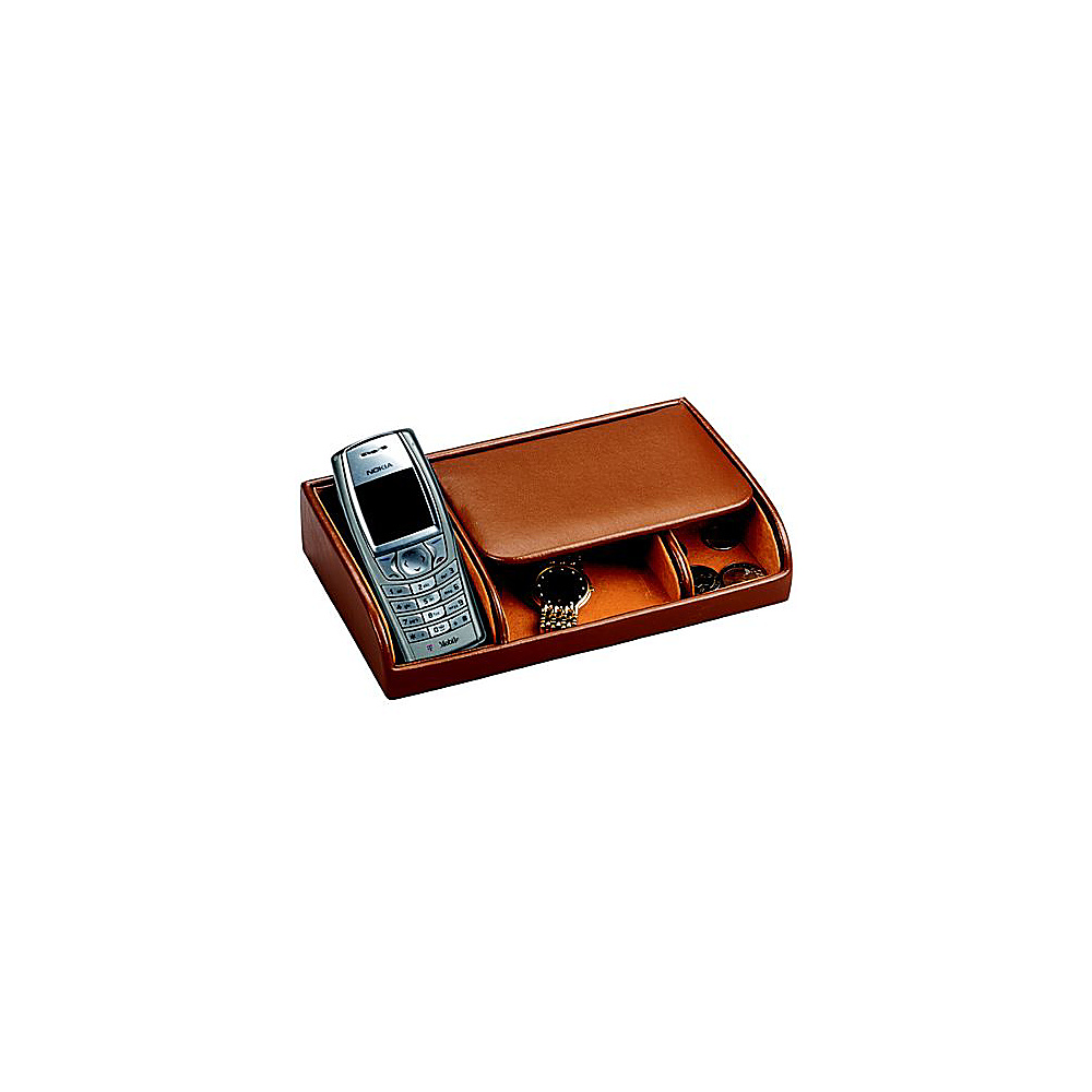 Budd Leather Leather Small Dresser Valet Brown