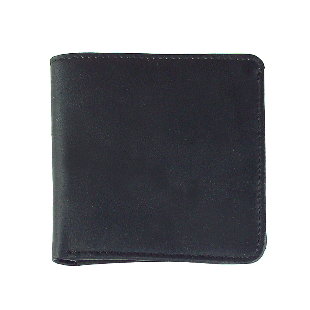 Piel Mens Hipster - Black - Work Bags & Briefcases, Men's Wallets