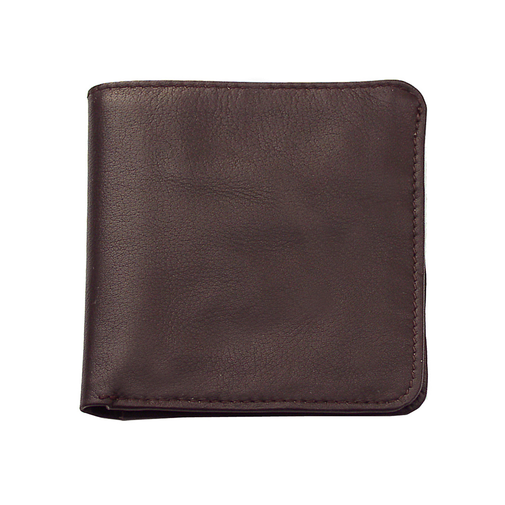 Piel Mens Hipster - Chocolate - Work Bags & Briefcases, Men's Wallets