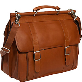 European Laptop Briefcase Saddle