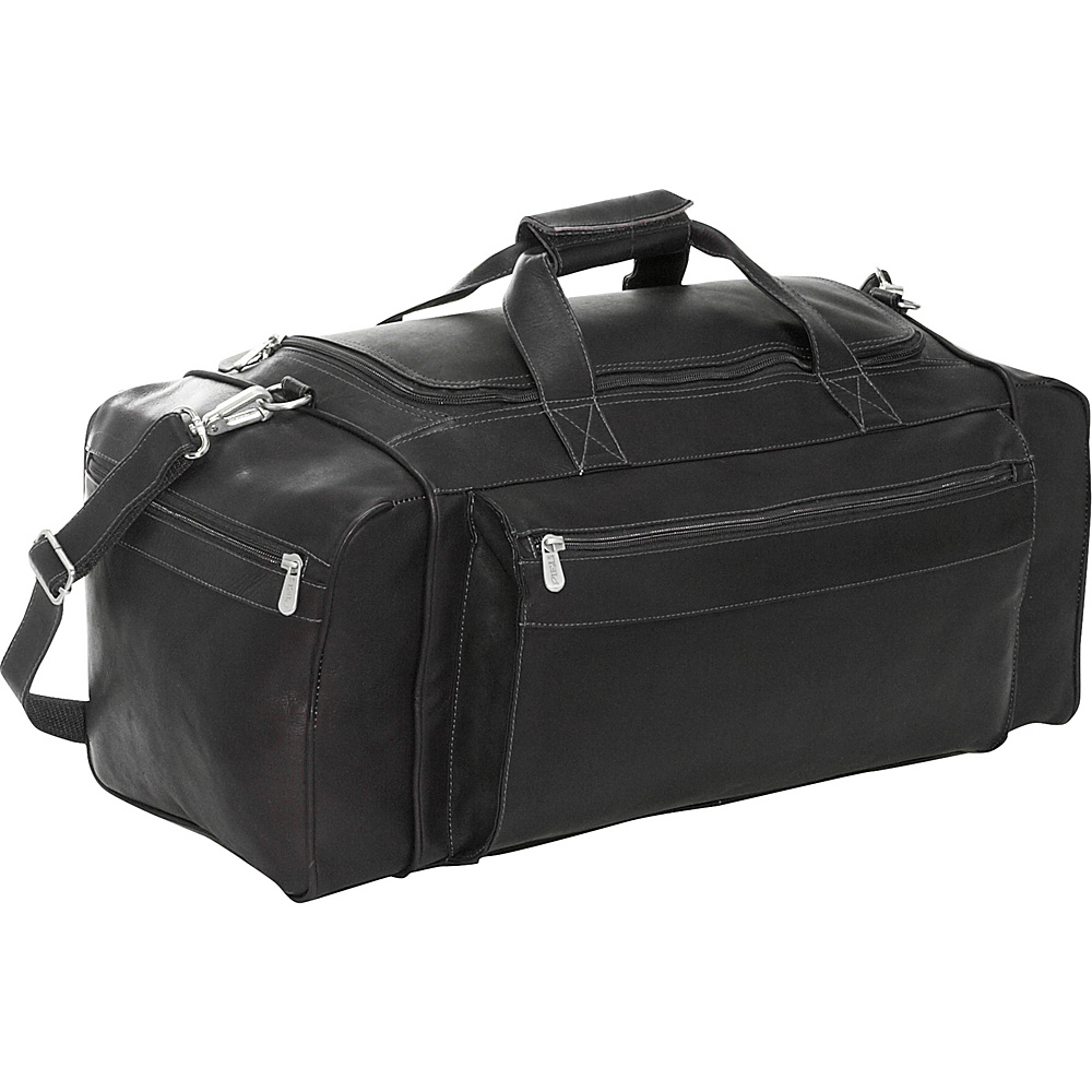 Piel Large Duffel Bag - Black - Duffels, Travel Duffels