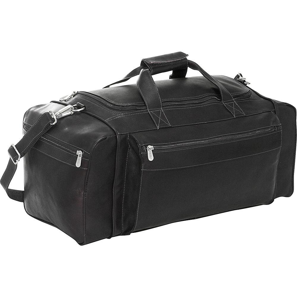 Piel Large Duffel Bag - Black - Duffels, Travel Duffels