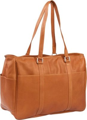 Piel Women's Large Business Tote - Saddle