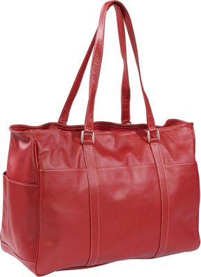 Piel Women's Large Business Tote - Red