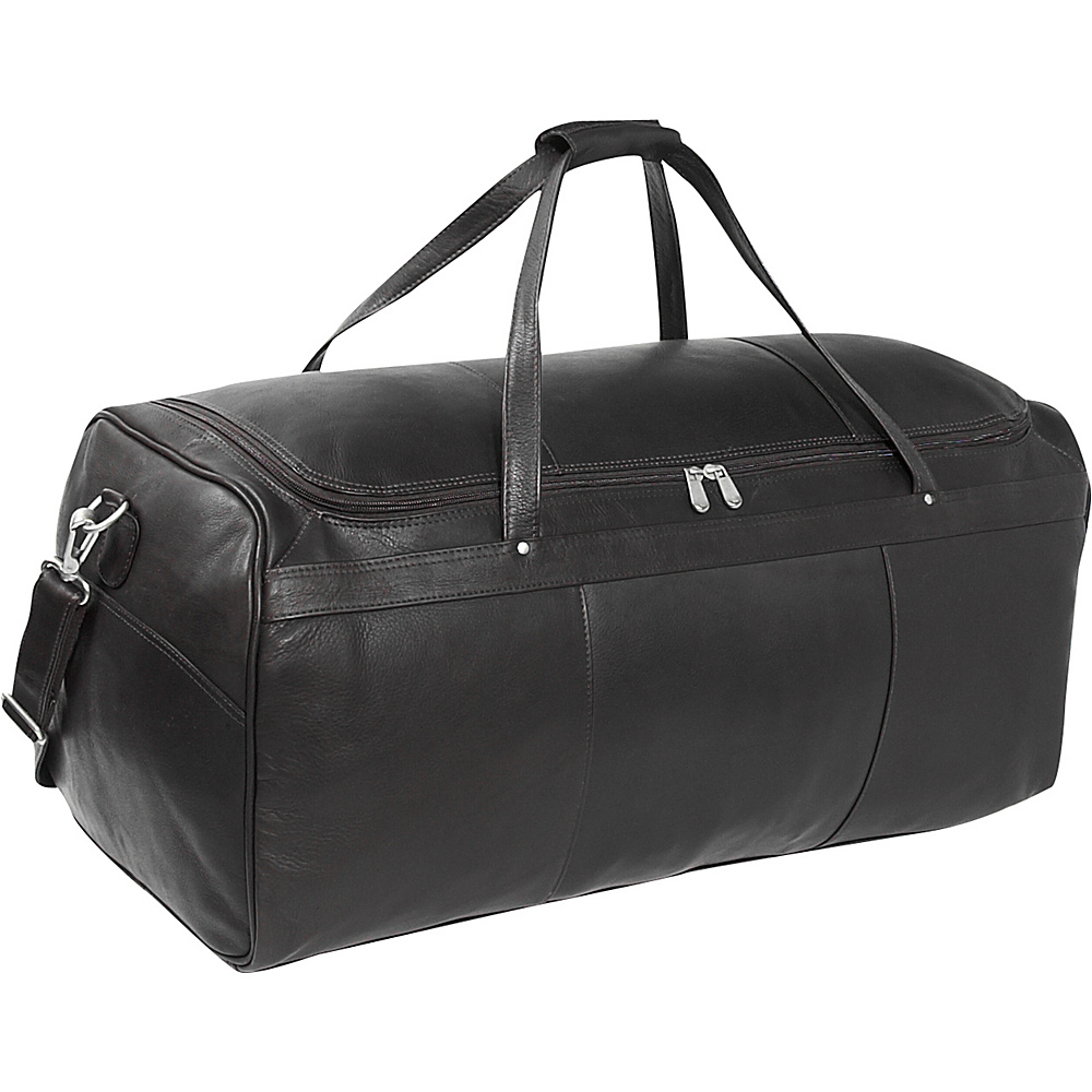 Piel Travelers Select Large Duffel Bag - Black - Duffels, Travel Duffels