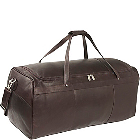 Traveler's Select Large Duffel Bag Chocolate