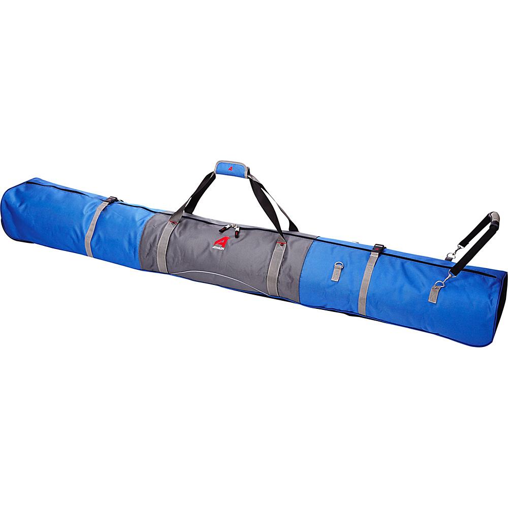 Athalon Single Ski Bag - Padded - 155cm GlacierBlue - Athalon Ski and Snowboard Bags