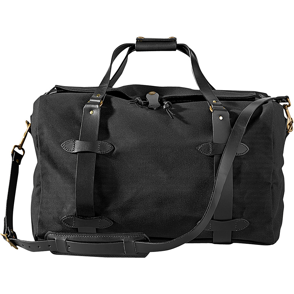 "Filson Medium 25"" Duffle Bag Black - Filson Travel Duffels"