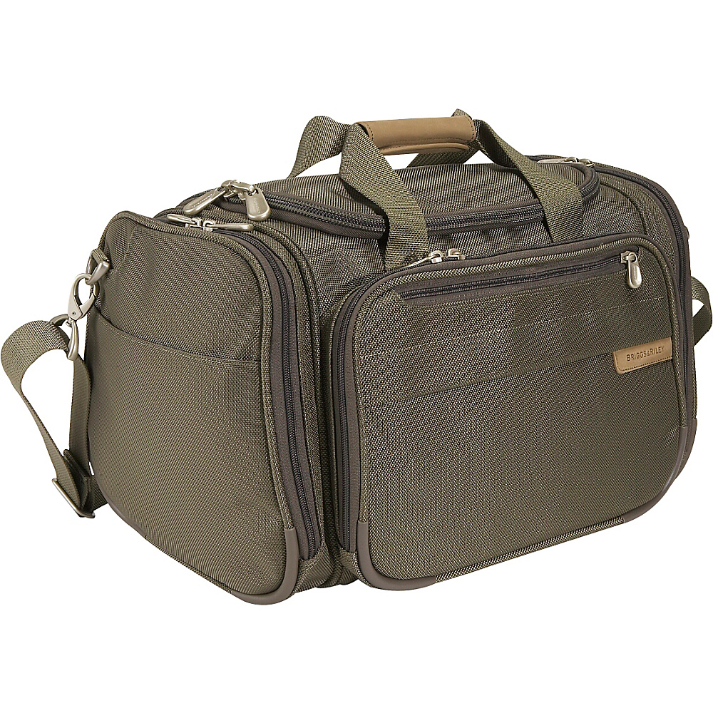 Briggs & Riley Baseline 17 Deluxe Travel Tote - Olive - Luggage, Luggage Totes and Satchels