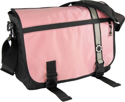 DadGear Messenger Diaper Bag Retro - Pink