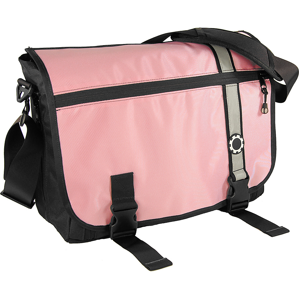 DadGear Messenger Diaper Bag Retro - Pink - Handbags, Diaper Bags & Accessories