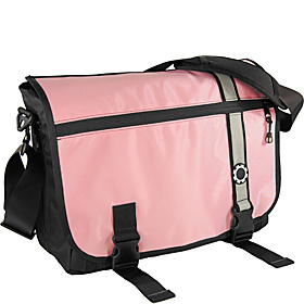 Messenger Diaper Bag Retro Pink