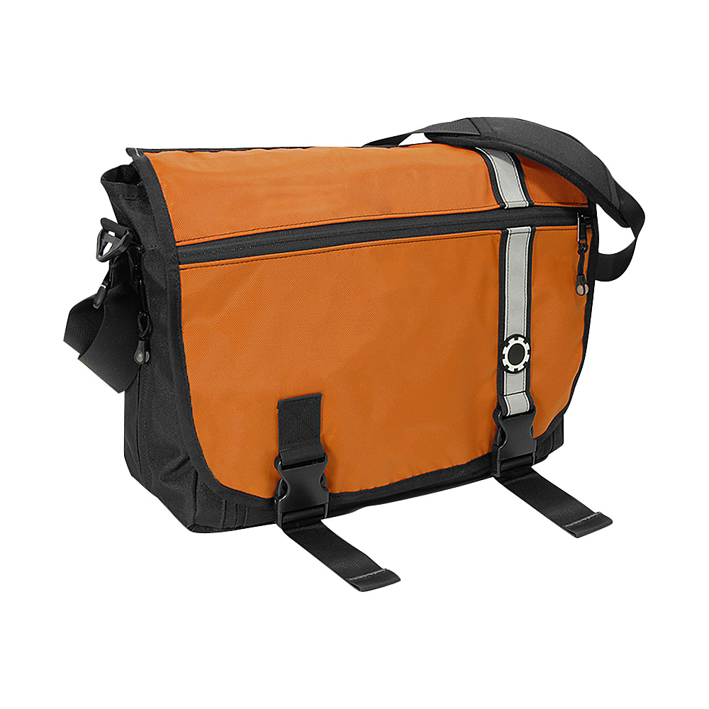 DadGear Messenger Diaper Bag Retro Retro Stripe Orange DadGear Diaper Bags Accessories