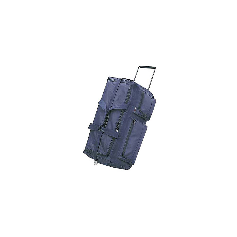 Netpack 35 Corner Wheeled Duffel - Navy - Luggage, Rolling Duffels