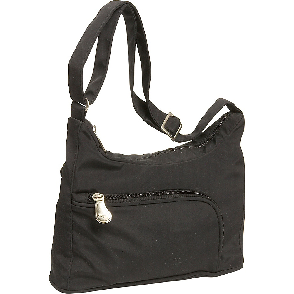 AmeriBag Phoenician Microfiber Black - AmeriBag Fabric Handbags - Handbags, Fabric Handbags
