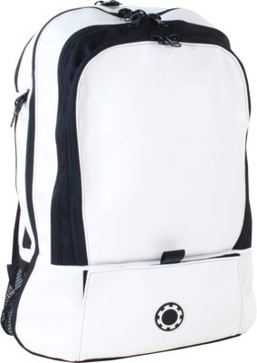 DadGear Backpack Basic Diaper Bag - Wicked White