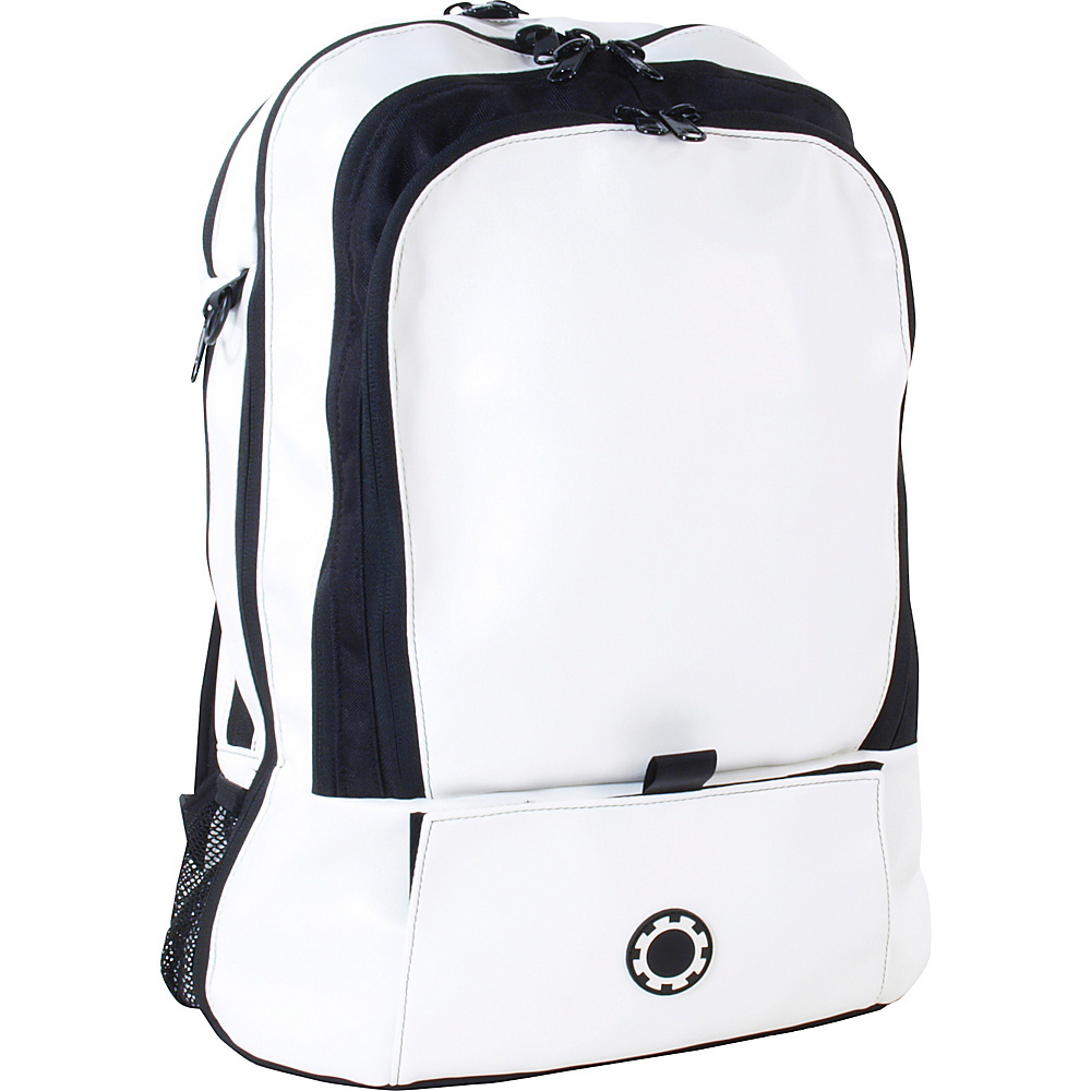 DadGear Backpack Basic Diaper Bag - Wicked White - Backpacks, Everyday Backpacks