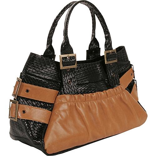 LaCroix Handbags Emillie - Black/Tan