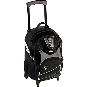 Champion Wheeled Laptop Backpack Black