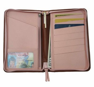 Royce Leather Passport Travel Wallet Ebags Com