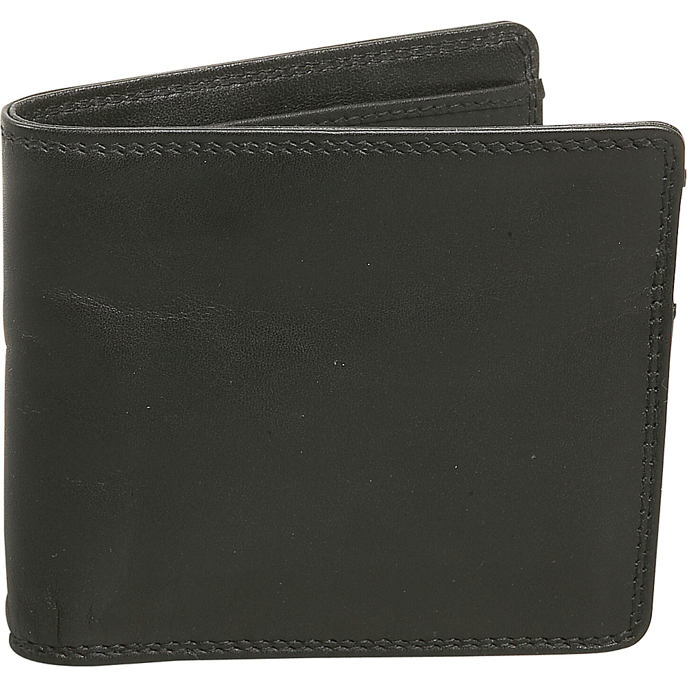 Derek Alexander Credit Card Billfold - Black - Work Bags & Briefcases, Men's Wallets