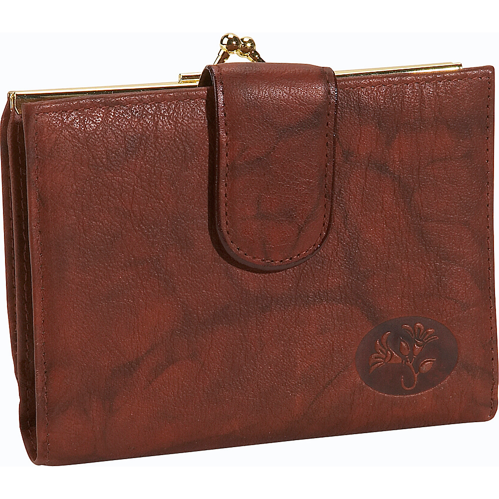 Buxton Heiress Double Cardex - Mahogany - Women's SLG, Women's Wallets