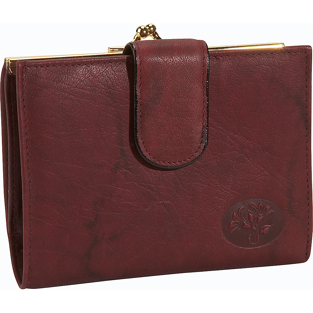 Buxton Heiress Double Cardex&trade-Exclusive Colors Burgundy - Buxton Womens Wallets - Women's SLG, Women's Wallets