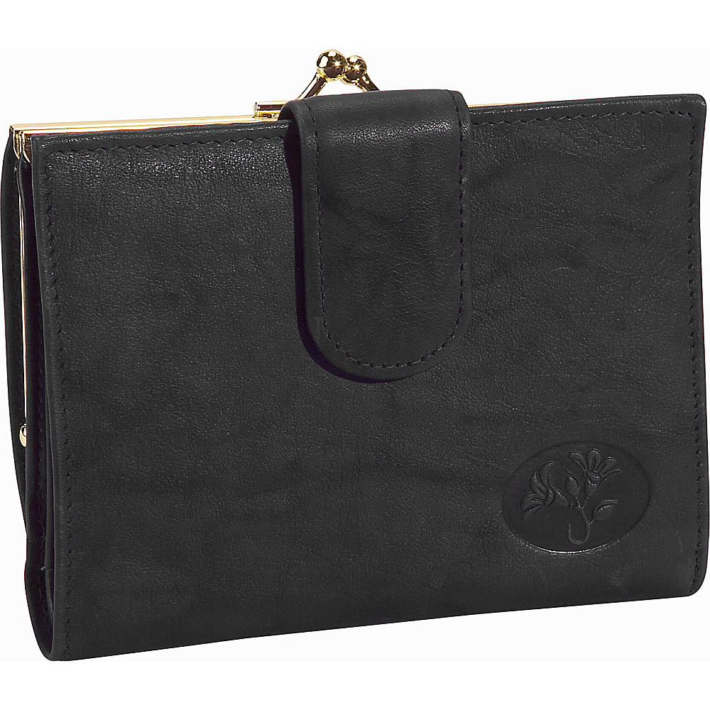 Buxton Heiress Double Cardex&trade-Exclusive Colors Black - Buxton Womens Wallets - Women's SLG, Women's Wallets