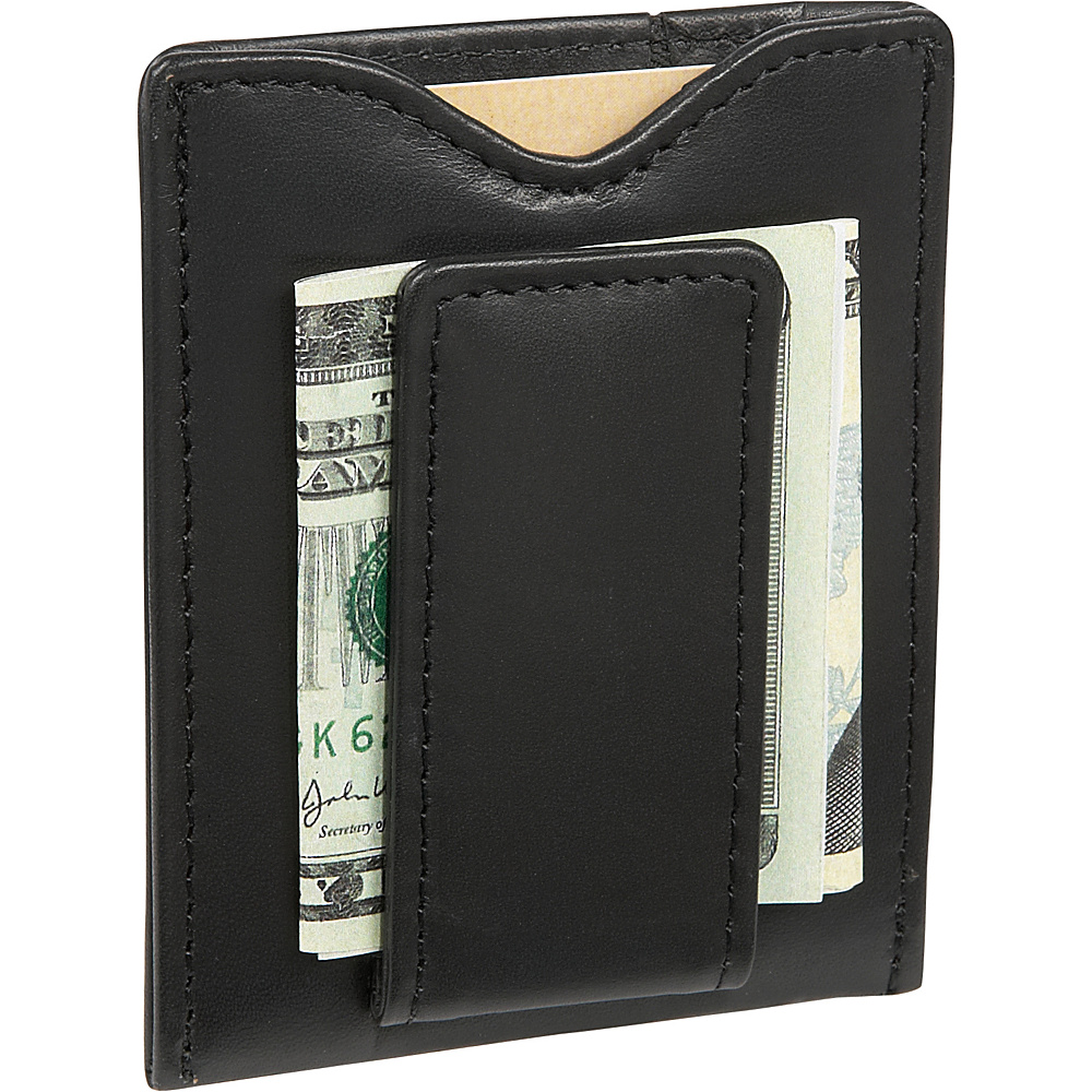 Dopp Regatta 88 Series Magnetic Money Clip - Black - Work Bags & Briefcases, Men's Wallets