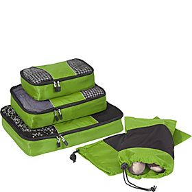 Value Set: Packing Cubes + Shoe Sleeves Grasshopper