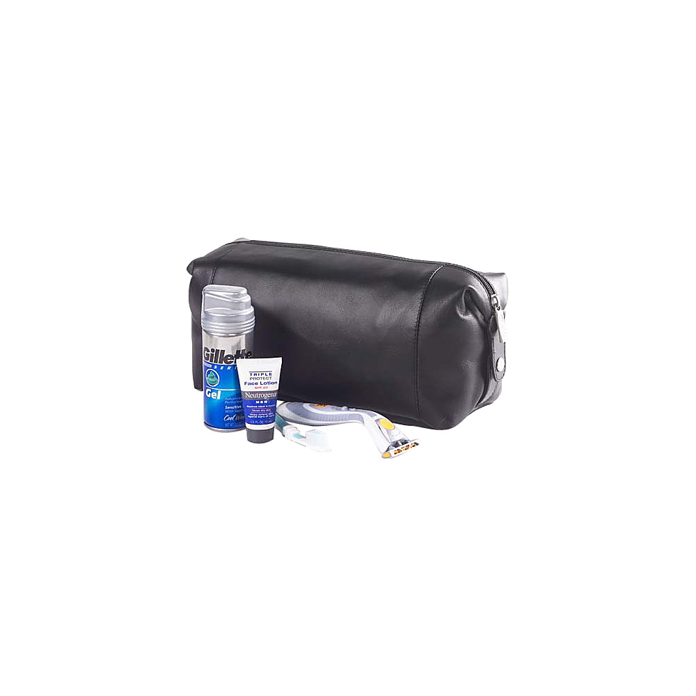 Clava Collapsible Snap Shave/Cosmetic Kit - Vachetta - Travel Accessories, Toiletry Kits
