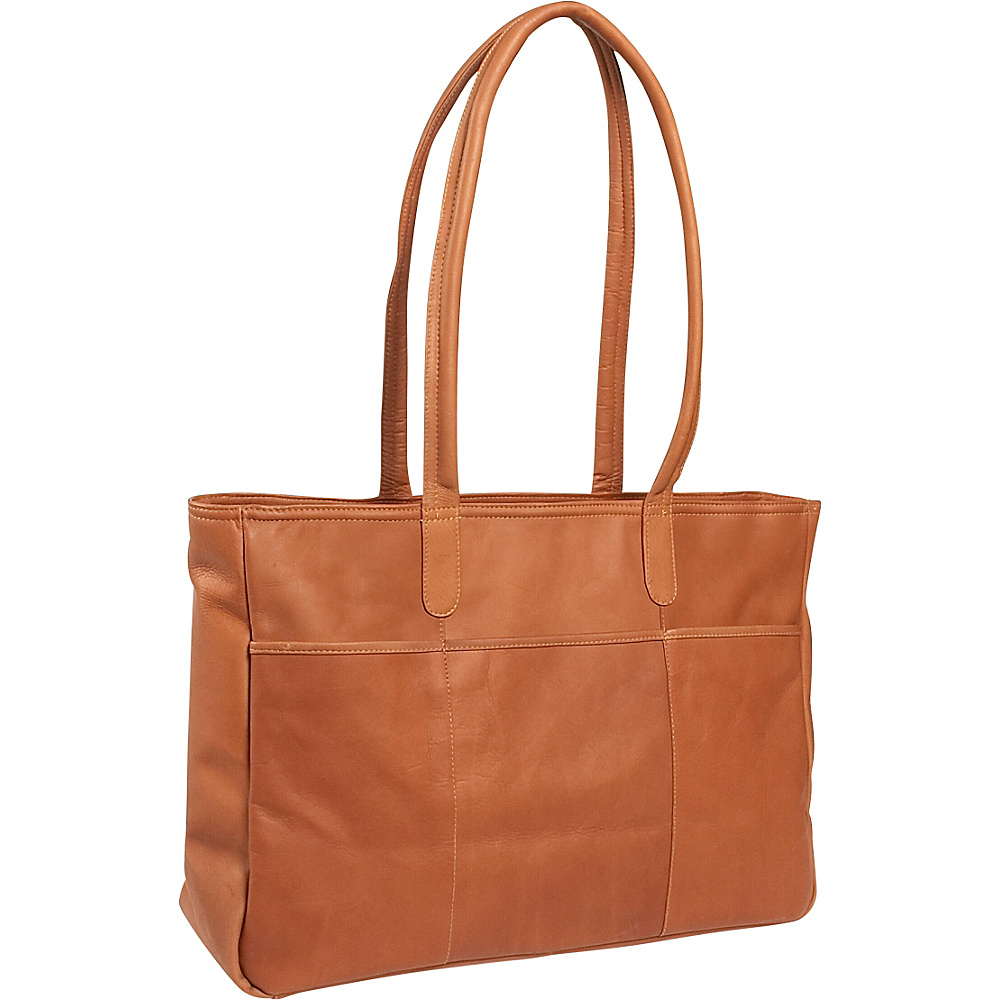 Clava Luggage Tote - Vachetta Tan - Luggage, Luggage Totes and Satchels