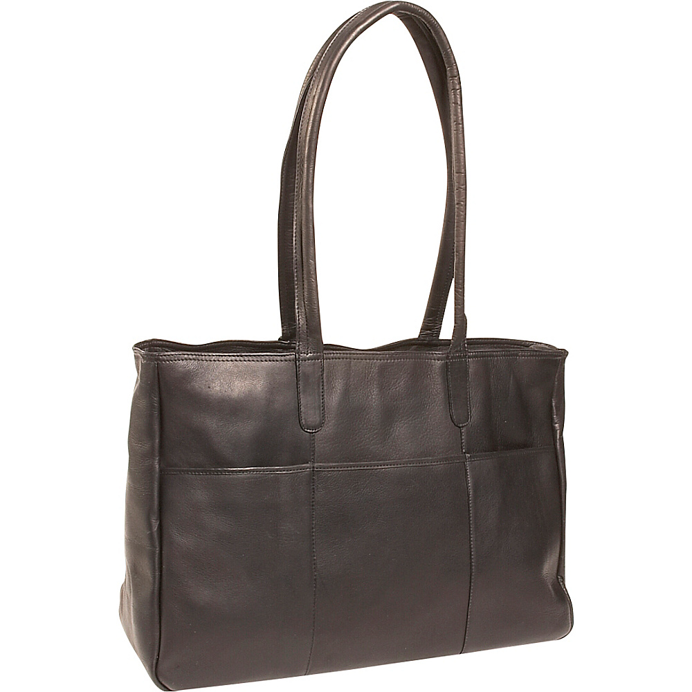 Clava Luggage Tote - Vachetta Black - Luggage, Luggage Totes and Satchels