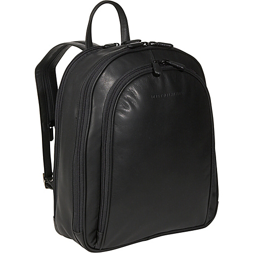 Derek Alexander Three Zipper Organizer Backpack