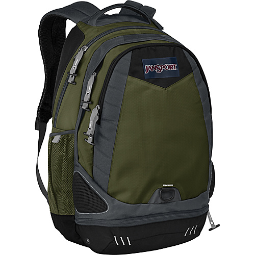 JanSport Boost - Green Machine - Backpacks, Laptop Backpacks