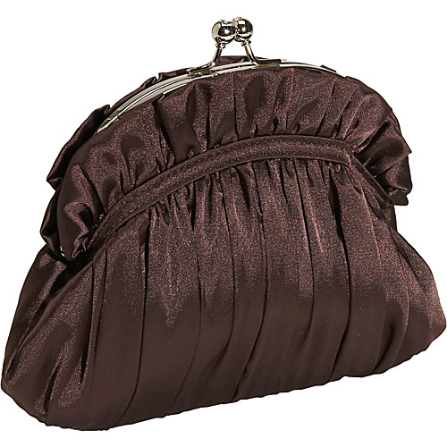 J. Furmani Silk Satin Clutch Bag - Clutch