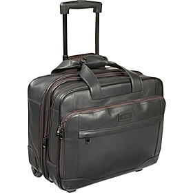 Aviator Large Wheeled Expandable Brief Dark Roast