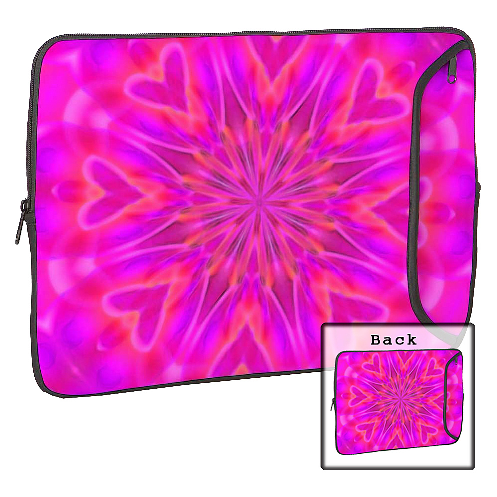 Designer Sleeves 15 Designer Laptop Sleeve - Pink - Technology, Electronic Cases
