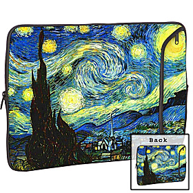 15'' Designer Laptop Sleeve Starry Night